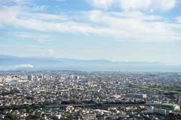 Cityscape of Fuji-shi