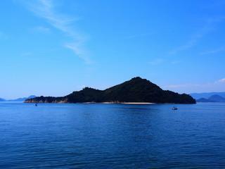 瀬戸内海の無人島