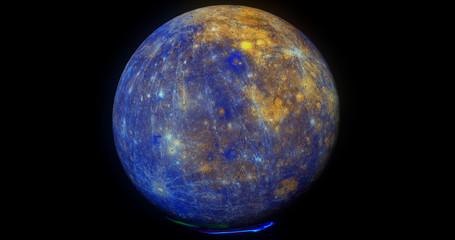 Whole Mercury Colour