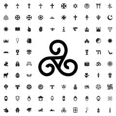 religious symbol icon illustration