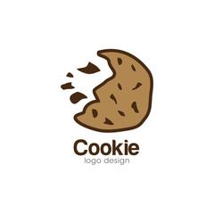 Cookie Creative Concept Logo Design Template