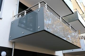 Balkon an Wohnhaus