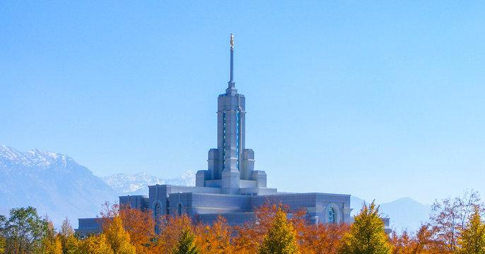 Fall Mountain Temple Tops