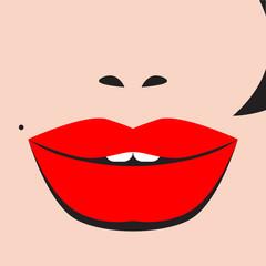 vector sexy lips