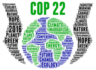 COP 22 in Marrakesh, Morocco