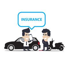 car crash and accidents Motorcycle Cartoon, character