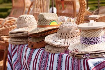 straw hat market trade