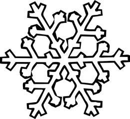 christmas snowflakes clip art