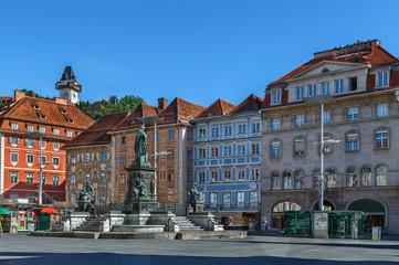 main square, Graz, Austria