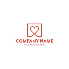 Dating Logo Template