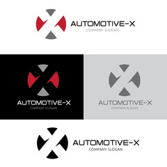 x letter  logo template, Sport and automotive logo template.