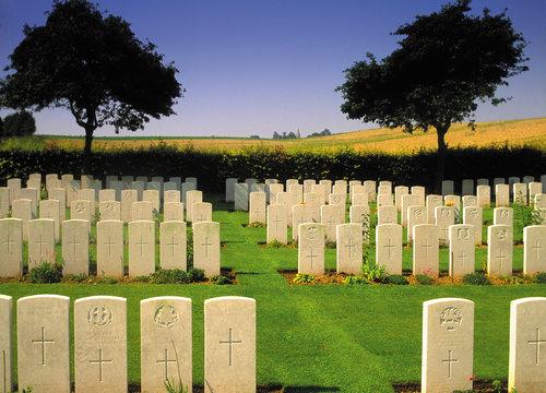 1st world war cemetery northern france