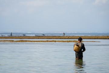 Pescador em Bali