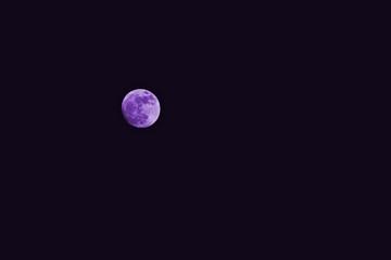 Super moon fancy Black background