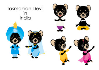 Tasmanian Devil in India  Cosplay Character