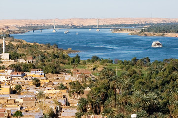 View at Nile River, Egypt