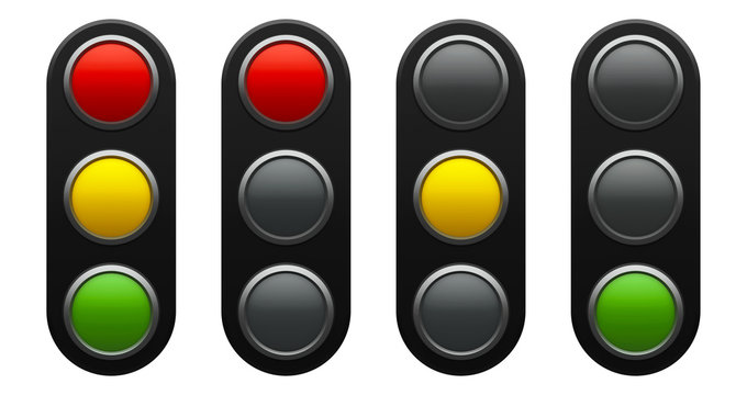 Traffic light schematic