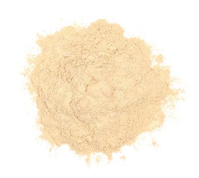 Ashwagandha Powder Isolated Top