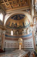 Interno della cupola della Basilica di San Giovanni in Laterano, Roma