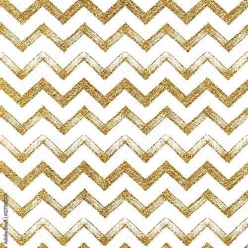quotseamless pattern of gold glitter zigzag chevron seamless