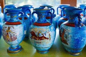Greek souvenir pitchers