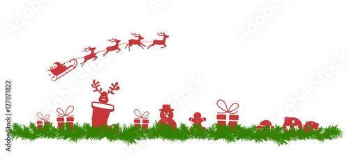 tannenzweig mit weihnachtsmotiven stockfotos und lizenzfreie vektoren auf bild. Black Bedroom Furniture Sets. Home Design Ideas