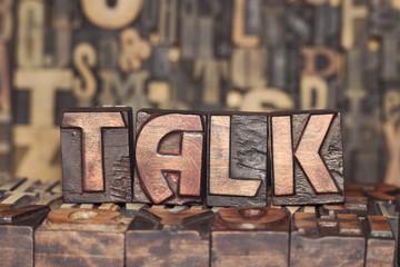 wooden TALK concept