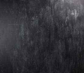 Blackboard / chalkboard texture. Empty blank black chalkboard wi
