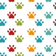foot print animal isolated icon vector illustration design