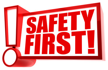 Safety first! Button, Icon