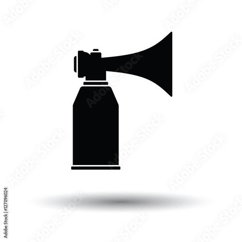 football fans air horn aerosol icon stockfotos und. Black Bedroom Furniture Sets. Home Design Ideas