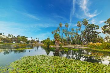 Echo park in Los Angeles