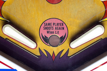 Flippers of a pinball table
