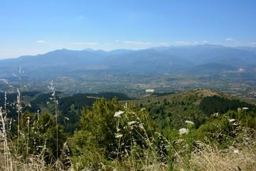 Views from Vodno Mountain, Macedonia