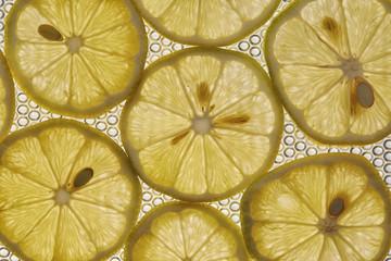 lemon fruit Close up as background