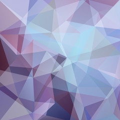 Abstract geometric style blue background. Vector illustration. Blue, purple colors