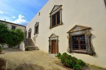 Courtyard. Sardinia