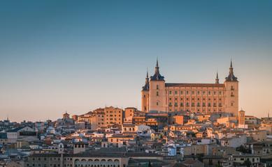 Foto op Aluminium Krakau Toledo, Spain old town cityscape at the Alcazar.