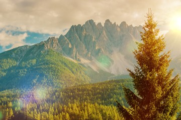 Wall Mural - Italian Dolomites Vista