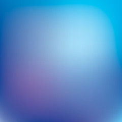 Abstract vector background, blue and purple gradient, smooth wallpaper