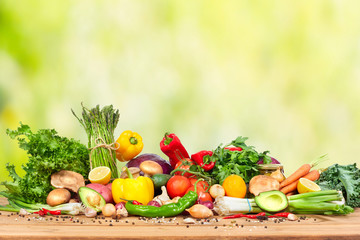 Wall Mural - Organic vegetables