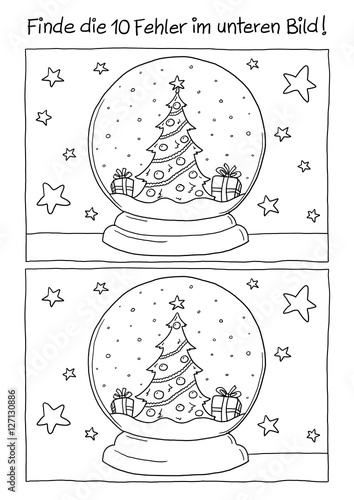 fehlerbild schneekugel weihnachten stockfotos und lizenzfreie bilder auf bild. Black Bedroom Furniture Sets. Home Design Ideas