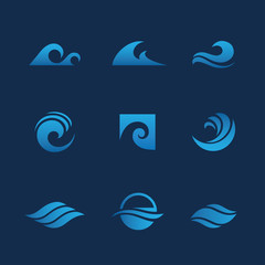 Blue waves set