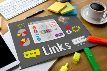 Links Global Communication Connection Hyperlink seo search engin