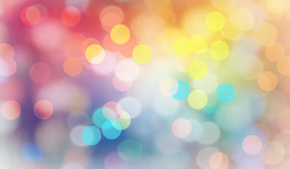 Abstract bokeh background.Can be used bokeh texture and bokeh background