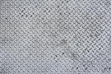 diamond iron plate texture as a background