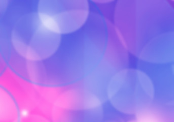 Blurry soft background with bokeh effect. Pale romantic pink and