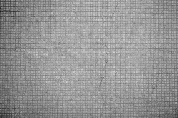 Grey square tiles background