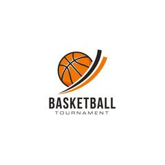 Basketball professional logo design vector