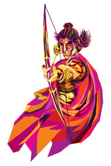 Lord Rama : He s the seventh avatar of the Hindu god Vishnu, and a king of Ayodhya in Hindu scriptures.